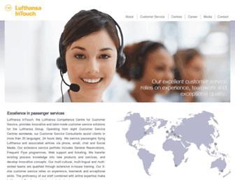 lh-intouch.com screenshot