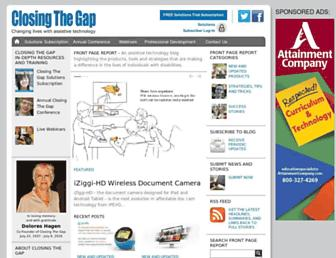 closingthegap.com screenshot