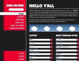 emojicons.com screenshot