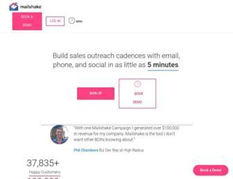 mailshake.com screenshot
