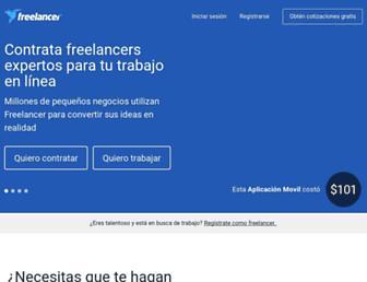 freelancer.es screenshot