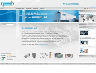 hummel.com screenshot