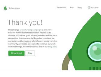 Thumbshot of Robomongo.org