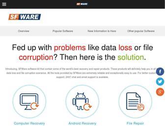 sfware.com screenshot