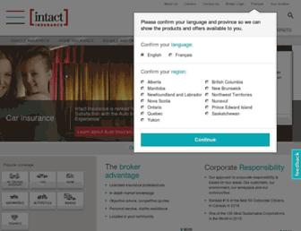 intact.ca screenshot