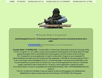 rampagecs.com screenshot