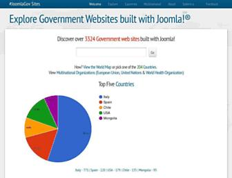 Thumbshot of Joomlagov.info