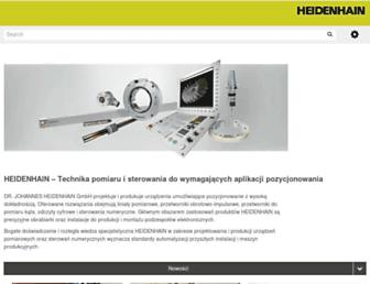 heidenhain.pl screenshot