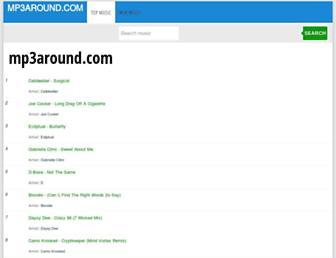 mp3around.com screenshot