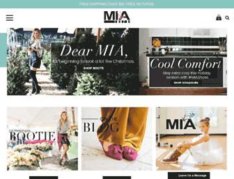 miashoes.com screenshot