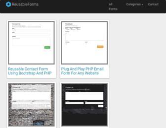 reusableforms.com screenshot