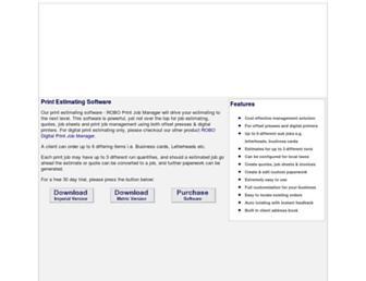roboprintjobmanager.com screenshot