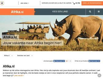 afrika.nl screenshot