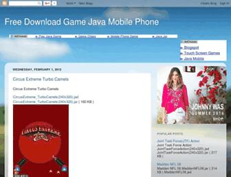 javagamephone.blogspot.com screenshot