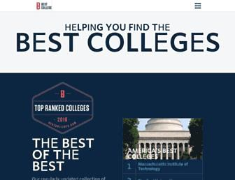 bestcolleges.com screenshot