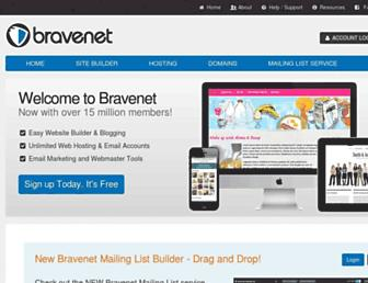 Thumbshot of Bravenet.com