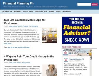 financialplanningph.com screenshot