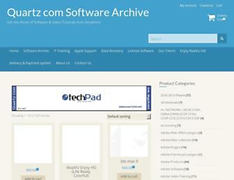 quartzbd.com screenshot