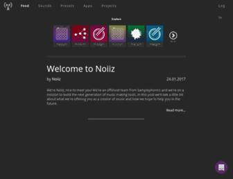 app.noiiz.com screenshot
