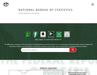 nigerianstat.gov.ng screenshot