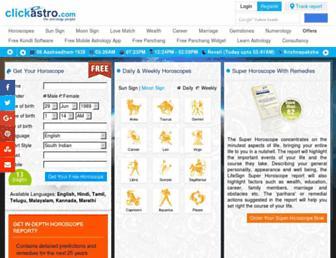 Thumbshot of Clickastro.com