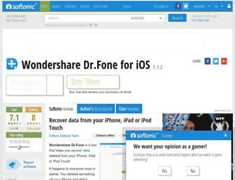 wondershare-data-recovery-for-iphone.en.softonic.com screenshot