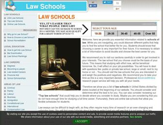 Thumbshot of Aboutlawschools.org