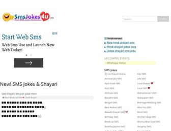 smsjokes4u.com screenshot