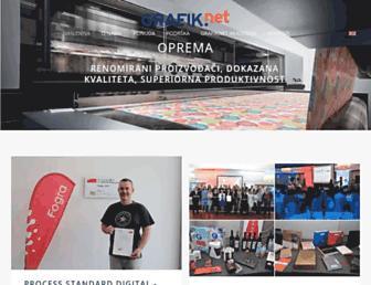grafiknet.hr screenshot