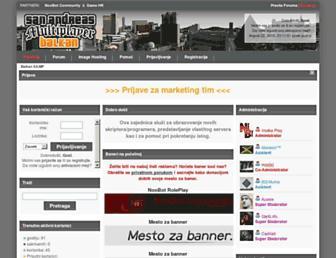 balkan-samp.com screenshot