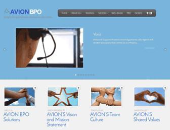 avionbpo.com screenshot