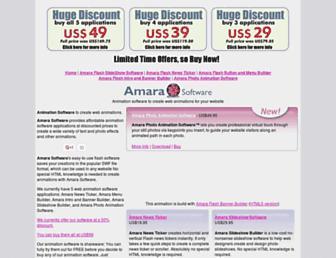 amarasoftware.com screenshot