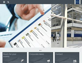Main page screenshot of messe-essen.de