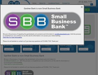 Thumbshot of Gardnerbank.com