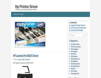 printerhp.net screenshot