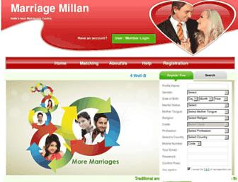 marriagemillan.com screenshot