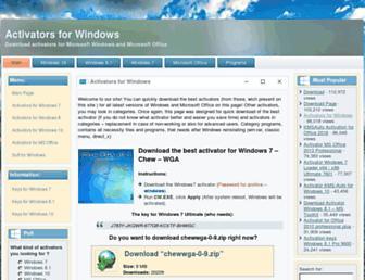 activatorwin.net screenshot