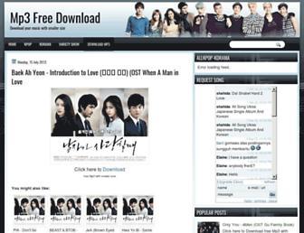 kpop-playlist.blogspot.com screenshot
