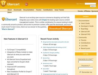 Fullscreen thumbnail of ubercart.org