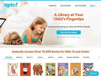Thumbshot of Getepic.com