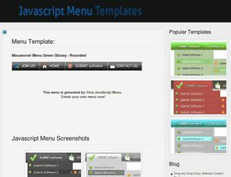 absolutejavascriptmenu.com screenshot