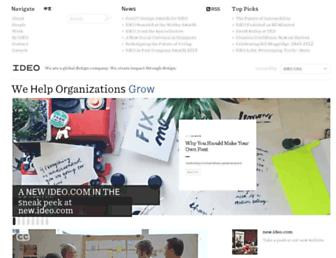 Thumbshot of Ideo.com