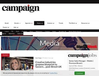 Thumbshot of Mediaweek.co.uk