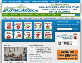 cortezcolorado.net screenshot