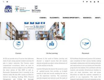 icajobguarantee.com screenshot