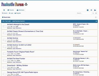 fantasticforum.com screenshot