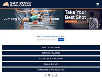 Thumbshot of Skyzone.com