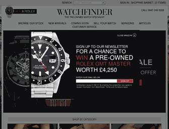 Thumbshot of Watchfinder.co.uk