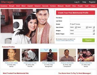 imarriages.com screenshot
