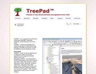 treepad.com screenshot